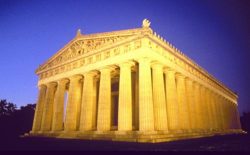 Parthenon located in Centennial Park, Nashville, TN